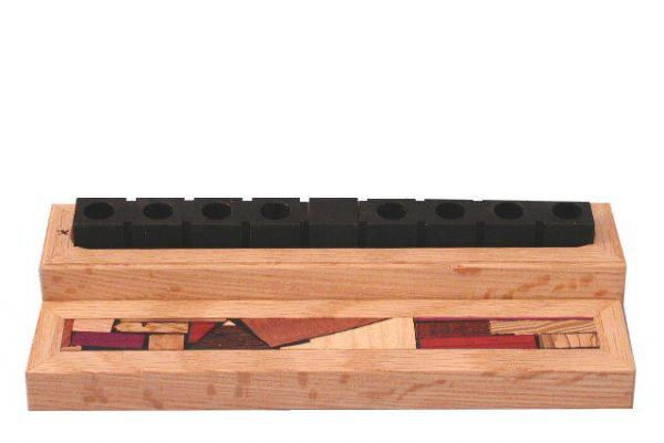 Closed-Travel-Menorah-with-Anodized-Aluminum-and-Mosaic-Wood-Case-MEN-T-O-O-RWL-ment-closed.jpg