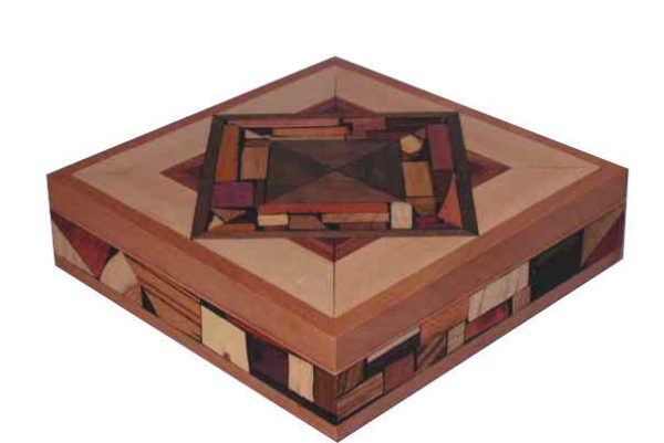 Large Mosaic Box - Keepsake Box - Jewelry Box