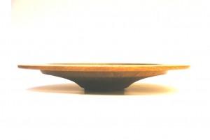 folk art wooden bowl 2 u2013 wide rimmed wooden bowl u2013 hand carved wood bowl