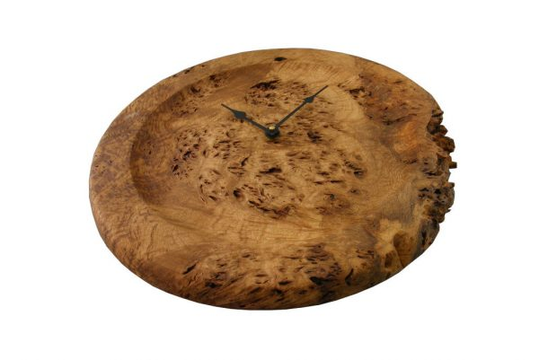 Rustic Kitchen Wall Clock - Designer Oak Root Clock - Rustic Home DecorCLOCK-OakRoot1-o-oak