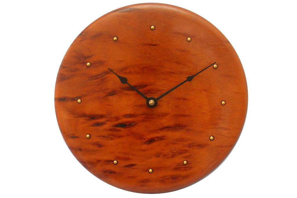 Contemporary Wall Clock Wood Wall Clock Modern Wall Clock Wood