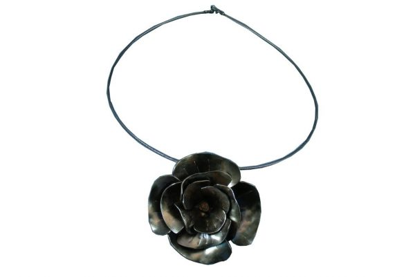 Statement-Choker-Necklace-Sterling-Silver-Rose-Pendant-Necklace-NECKLACE-SilverRose-5x5-Silver-RWP_-0427tryfirst0007.jpg