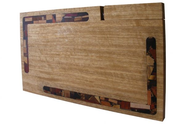 Mosaic Challah Cutting Board w/ Mosaics & Knife - Frakke Wood - Wedding-Present - CUT-KM-O-Frakke-RW-February2013-087.jpg