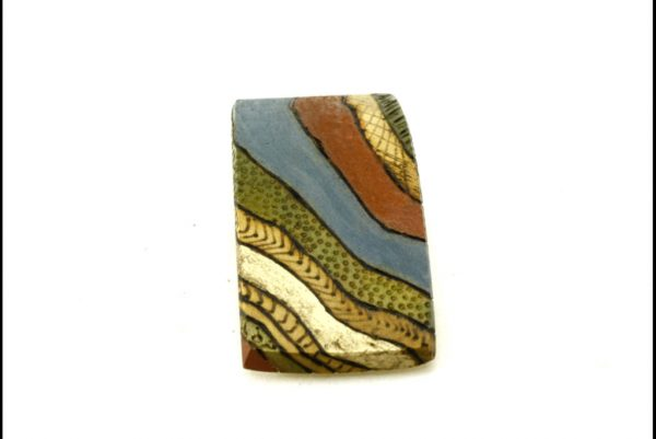 Decorative Wooden Barrette-Art Deco Barrette-Hair Accessory-BARRETTE-ArtDeco-3-LCR-maple-MG_4173