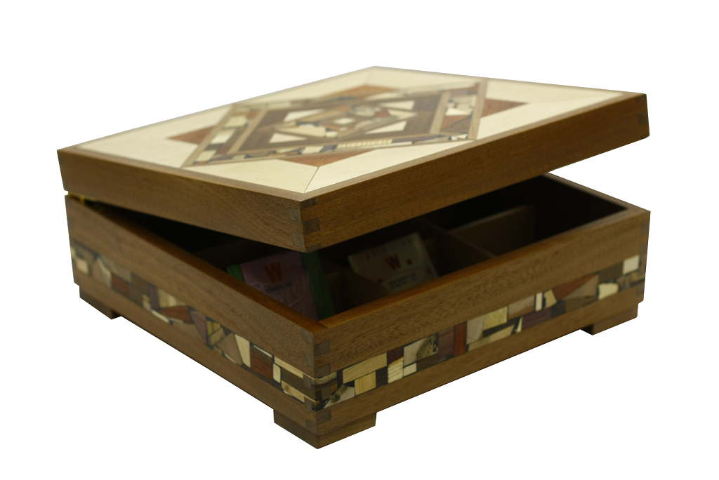 Tea Chest Coffee Table Part - 32: Designer-Deep-Wooden-Tea-Box-Tea-Selection-Box-