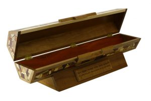 Wooden Megillah Case for Large Scroll-Horizontal Megillah Case-MEG-HOAC-53-6woods-RWCL-_MG_4287