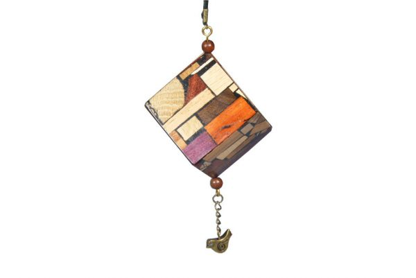 Wooden Ornament-Window Decoration-Hanging Mosaic Ornament-Real Woods-ORN-M-B-O-RWP-2009_1108tryfirst0010