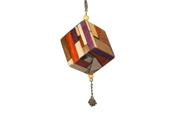 Wooden Window Ornament-Christmas Decoration-Good Luck Ornament-ORN-M-H-O-RWP-2009_1108tryfirst0008